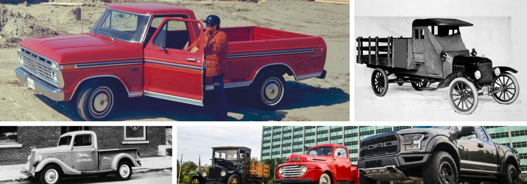 100 Years of Ford Truck History - Celebrated on Social Media