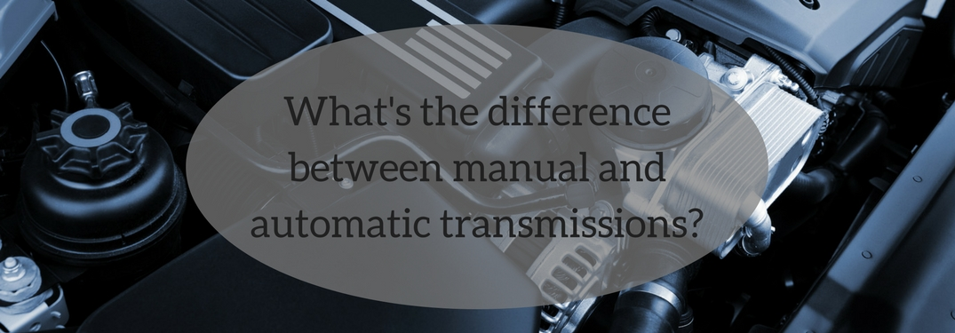 What is the difference between manual and automatic transmission