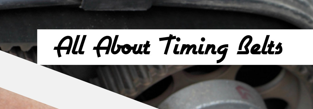 How can you know when the timing belt is going?
