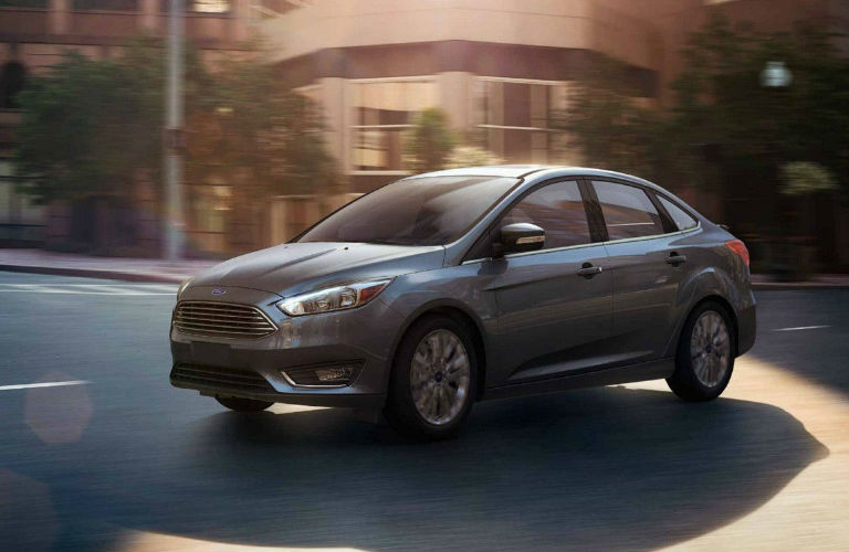 Silver 2018 Ford Focus