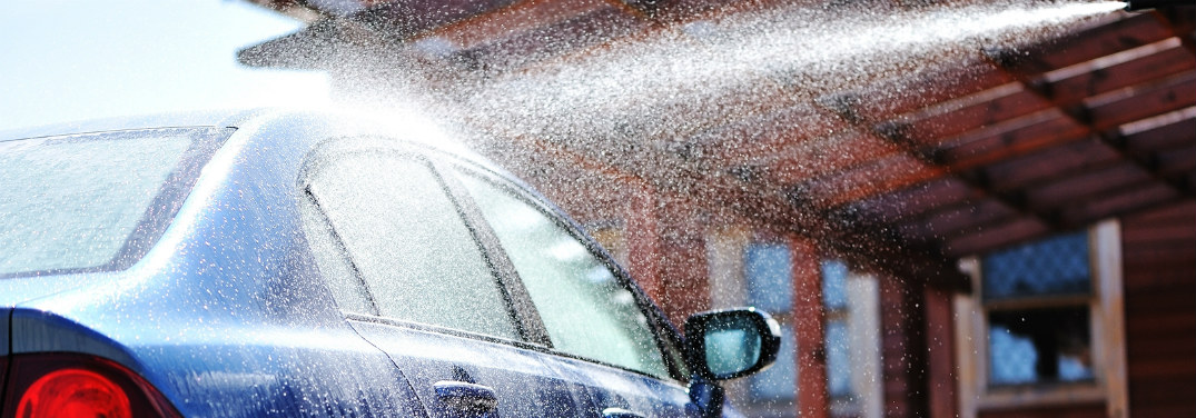 What is the water pressure at a car wash?