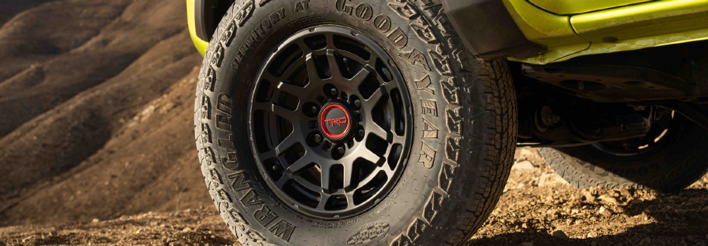 2022 Tacoma TRD Pro tire