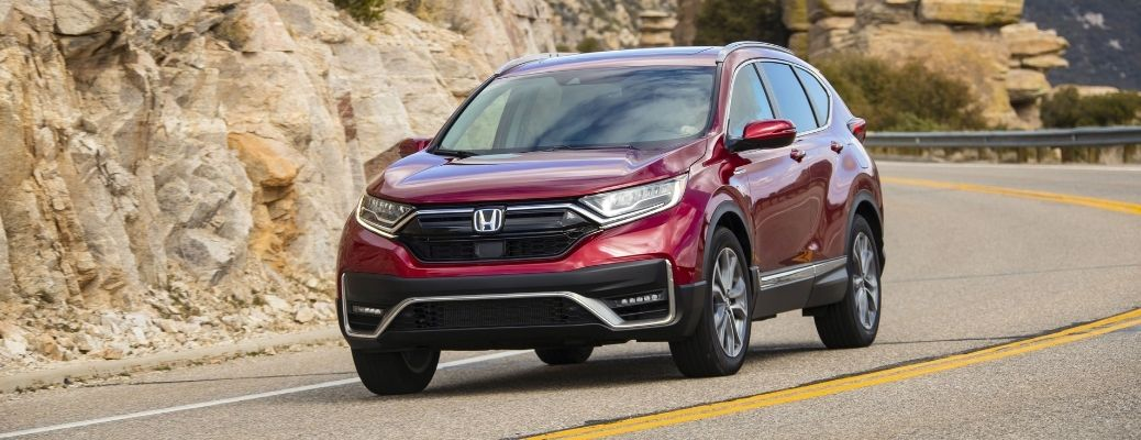 Safety Features and Infotainment System of the 2021 Honda CR-V