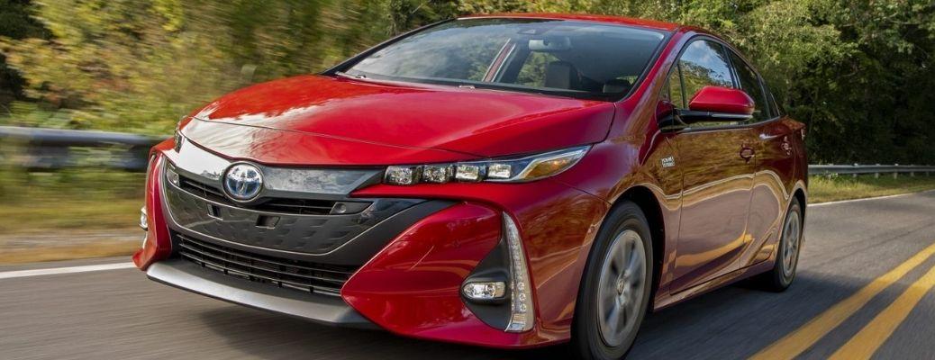 2022 Toyota Prius Prime front quarter view