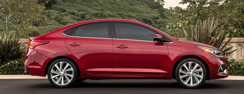 2021 Hyundai Accent side view