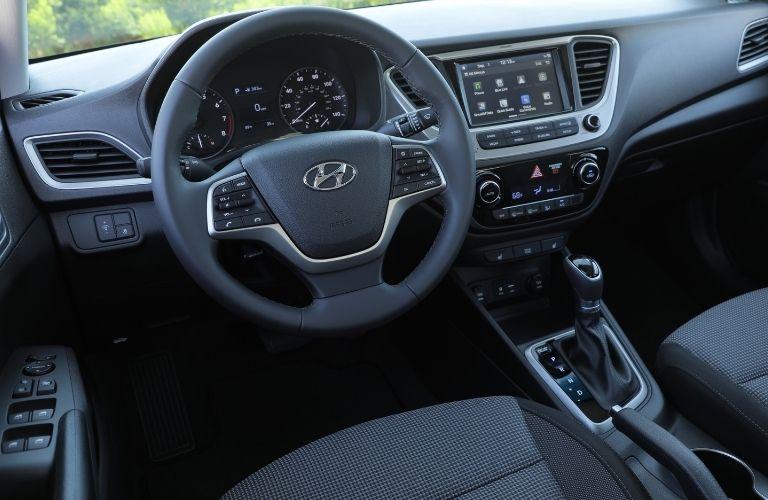 2021 Hyundai Accent dashboard