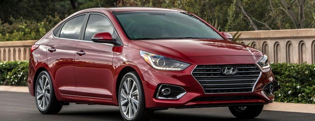 2021 Hyundai Accent front quarter view