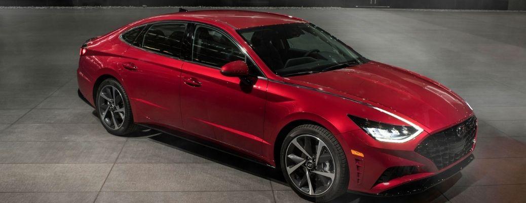 2021 Hyundai Sonata top view