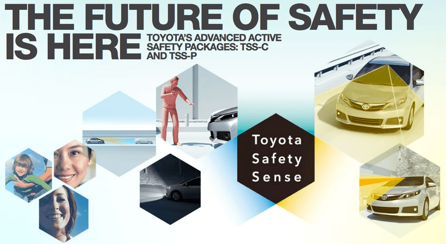 Toyota Safety Sense Features
