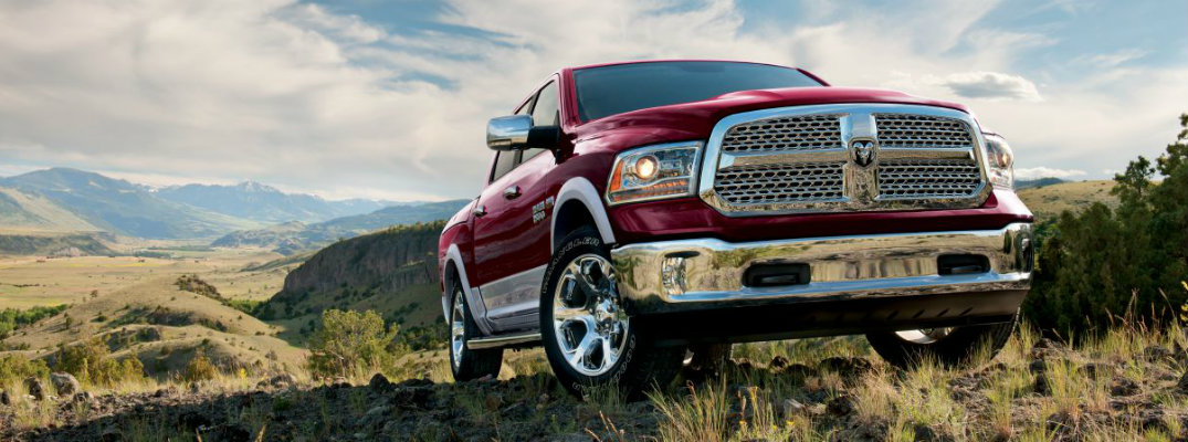 What does the 2017 Ram 1500 look like?