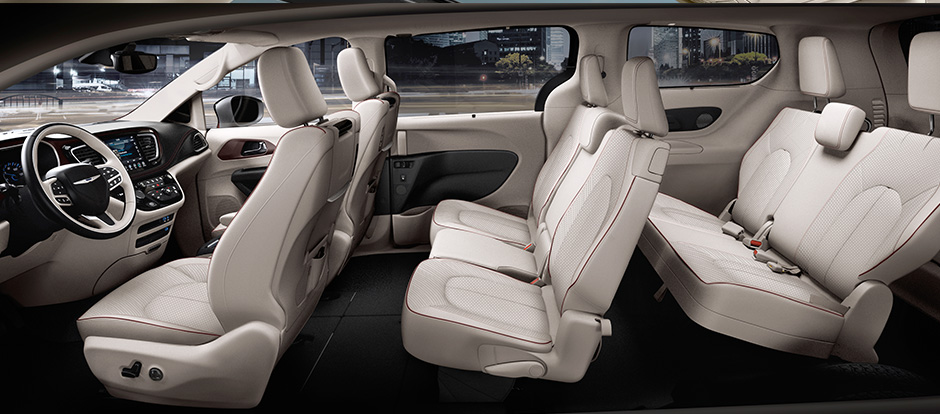 Chrysler Dealer Connect >> 2017 Chrysler Pacifica cargo and passenger space