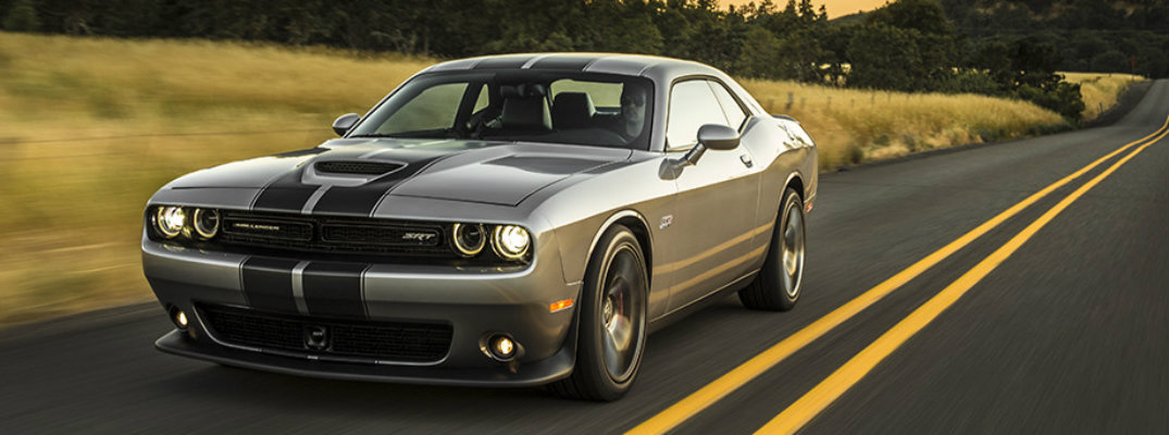 2017 Dodge Challenger colour options