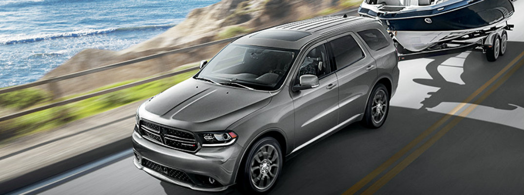 How much can the 2017 Dodge Durango tow?