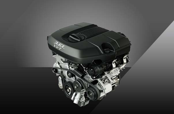 2017 Dodge Charger Engine Options