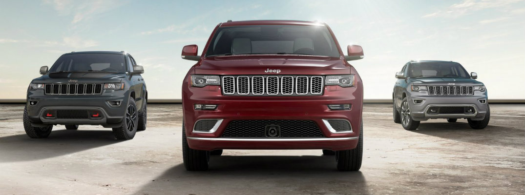 2017 Jeep Grand Cherokee colour options