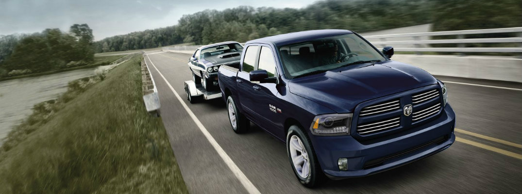 How much can the 2017 Ram 1500 tow?