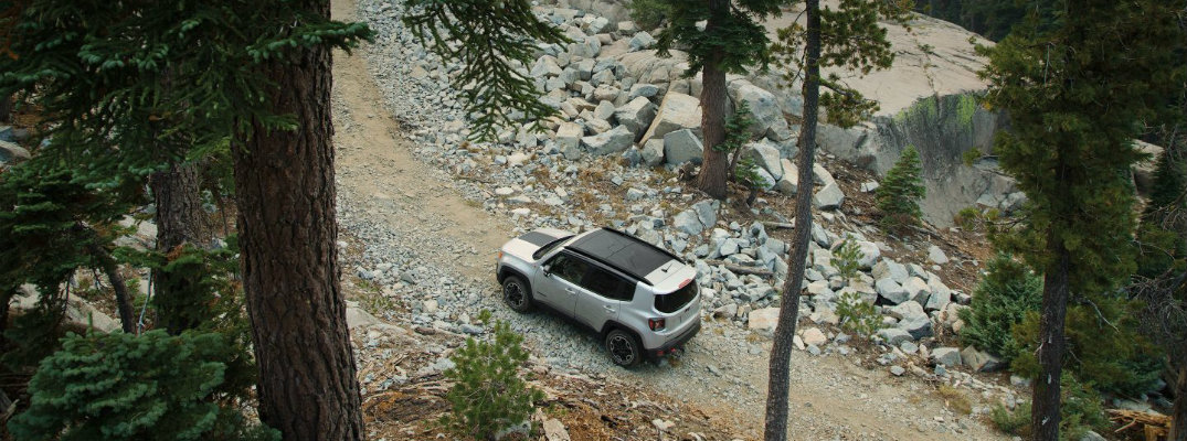 Does the 2017 Jeep Renegade come with a GPS?