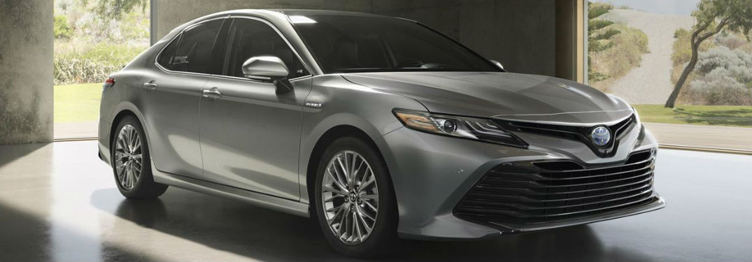 2018 Toyota Camry in gray