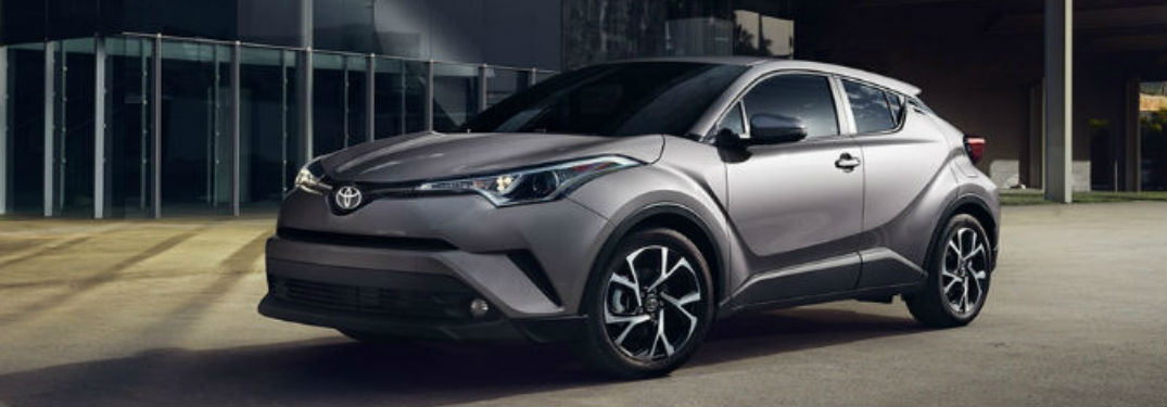 2018 Toyota C-HR in gray