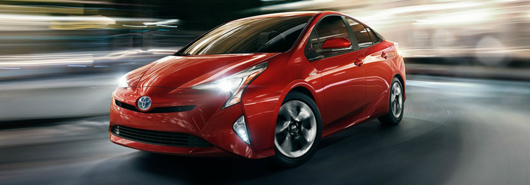 ... 2018 Toyota Prius In Red