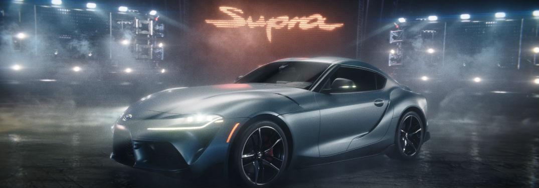 2020 Toyota Supra in gray