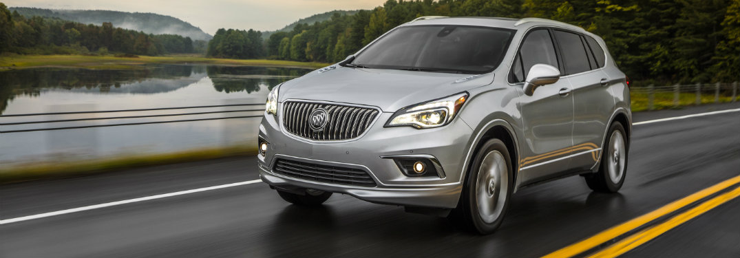 2017 Buick Envision Safety Rating and Features