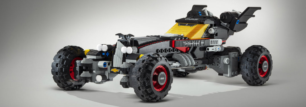How big is the LEGO Batmobile?
