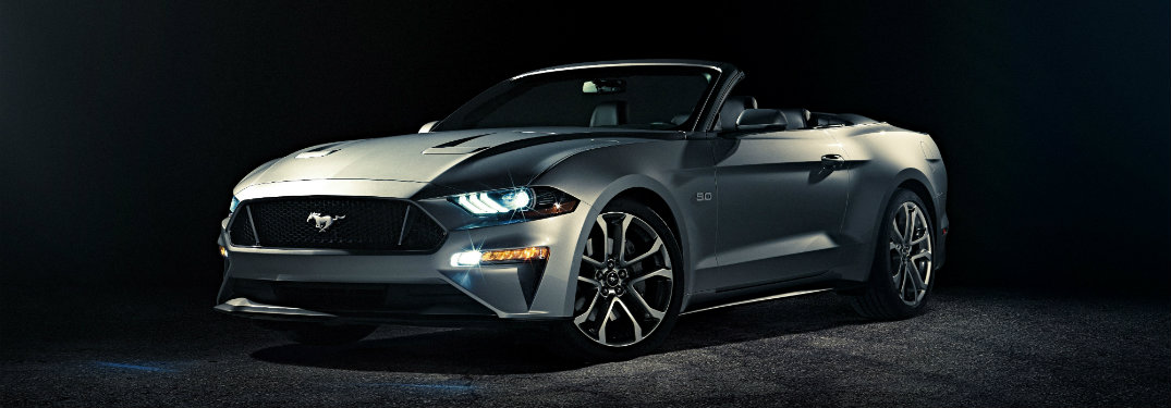 Images of the 2018 Ford Mustang Convertible