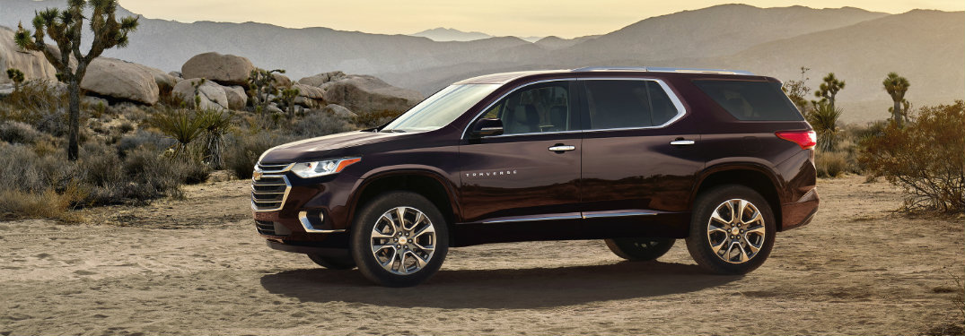 What will be new on the 2018 Chevy Traverse