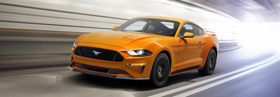 What will be new on the 2018 Ford Mustang
