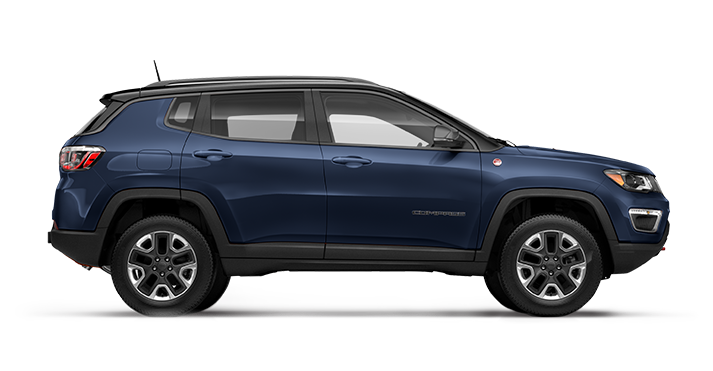 All New 2017 Jeep Compass Jazz Blue Pearl O Regency 100 Mile