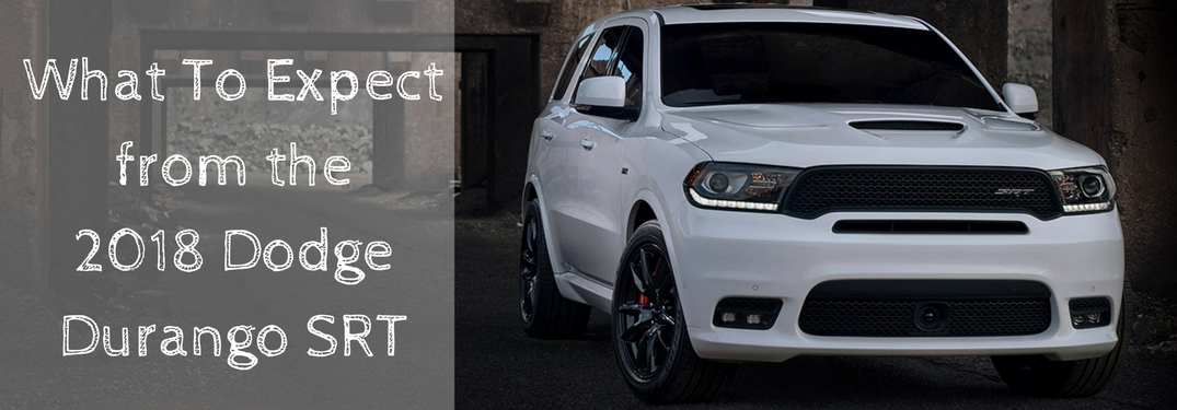 dodge durango srt 2018 regency 100 mile