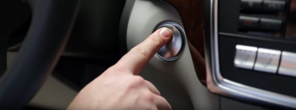 How To Use Push Button Start In Your Mercedes Benz