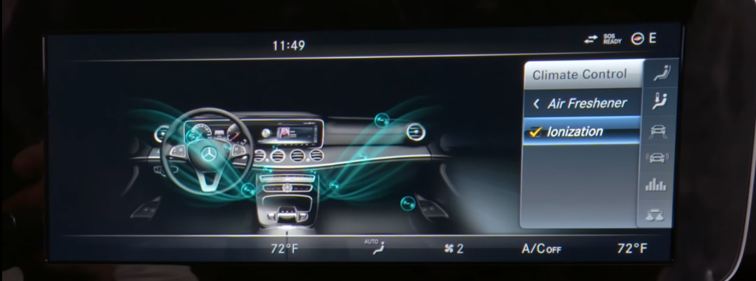 The Mercedes-Benz Air Balance Climate Control System Delivers Pure and Fresh Air