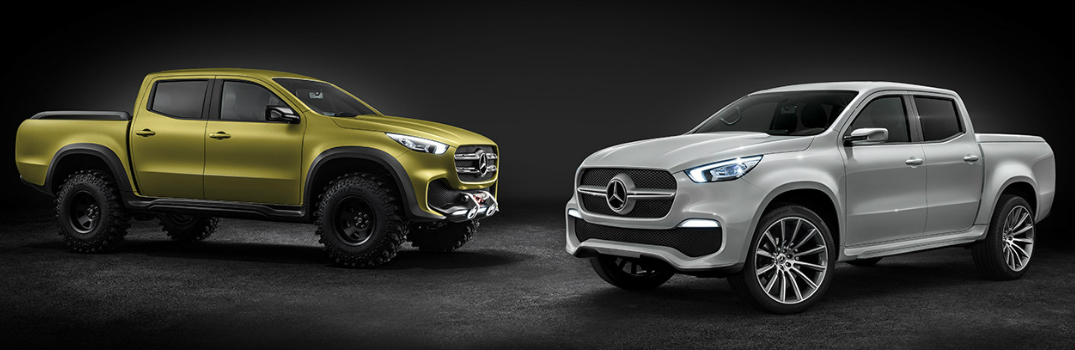 2018 Mercedes-Benz X-Class Pickup Truck Towing & Payload Capacity