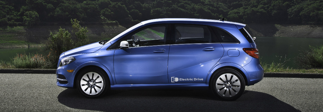What is the electric range to the 2017 Mercedes-Benz B-Class?
