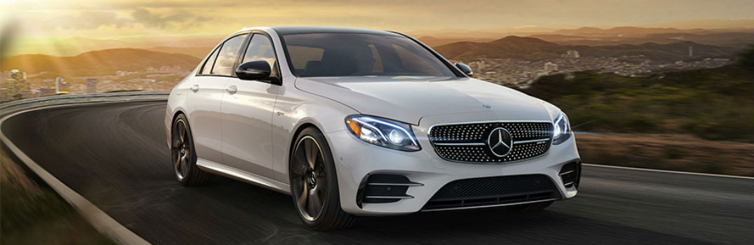 What transmission is offered in the 2017 Mercedes-Benz E-Class?