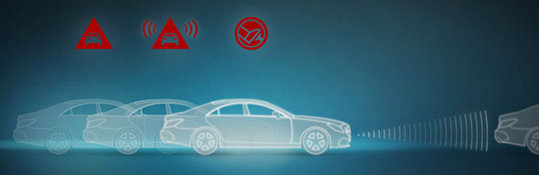 How Does the Mercedes-Benz COLLISION PREVENTION ASSIST PLUS Feature Work?