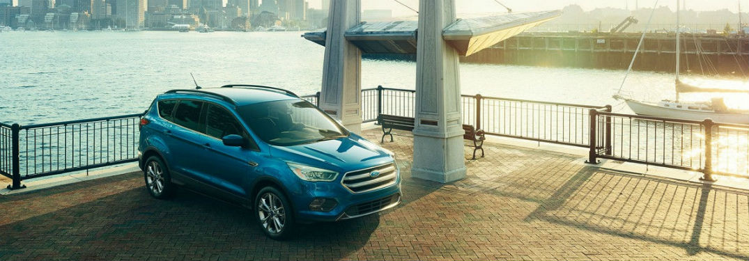 2017 ford escape shown in city street_o