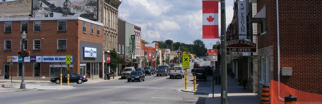 Picture of the town of Listowel, ON