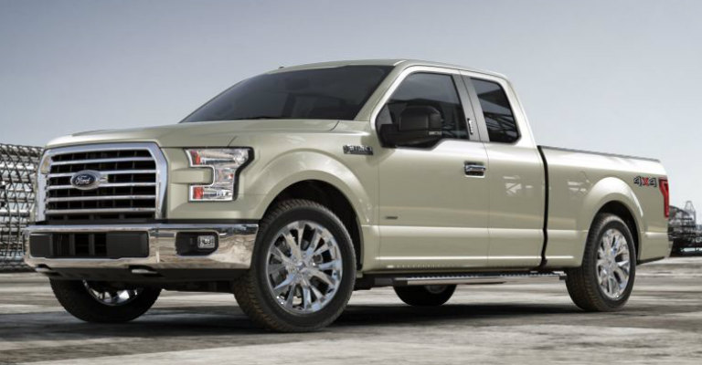 What Does The White Gold Ford F  Look Like
