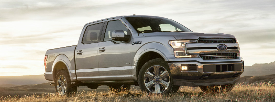 How is the design of the 2018 Ford F-150 different than the 2017 model?