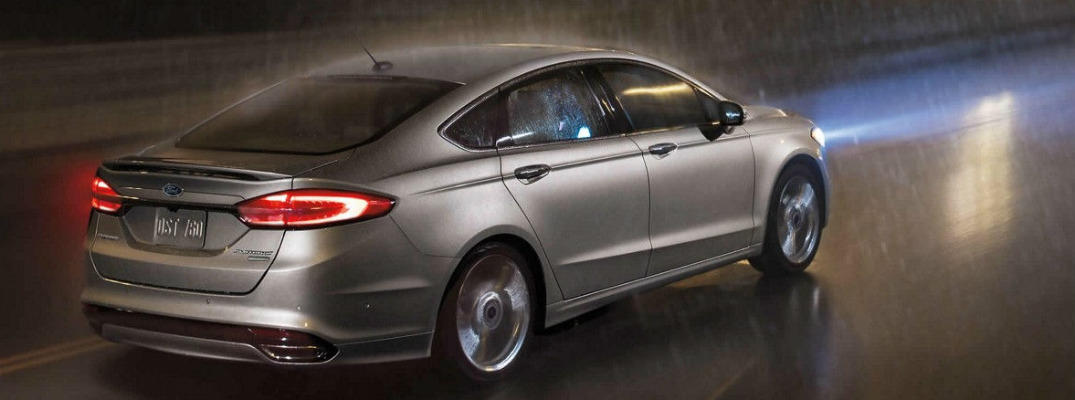What Safety Features Does The  Ford Fusion Have