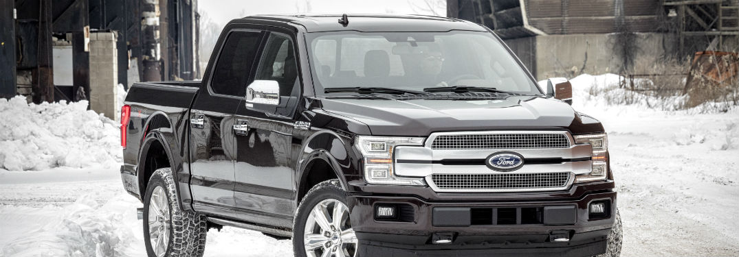 ford truck in snow. Black Bedroom Furniture Sets. Home Design Ideas