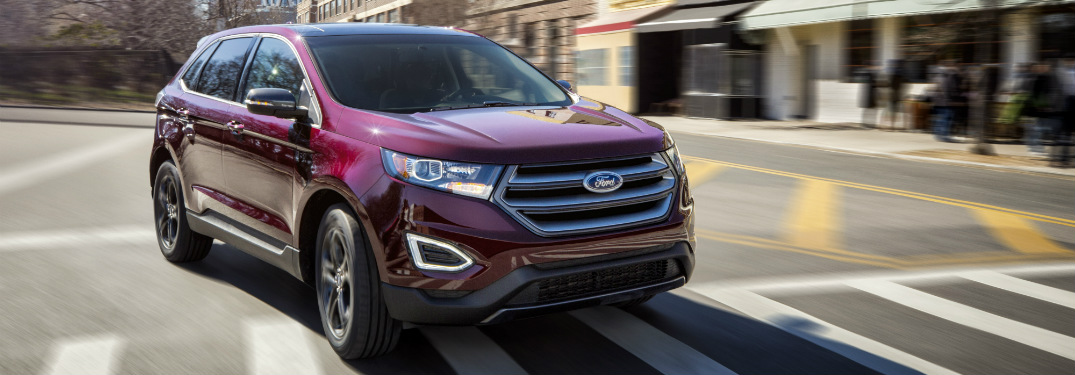 2018 ford edge full view