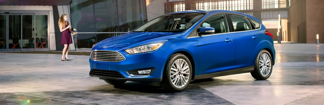 2018 Ford Focus parked.