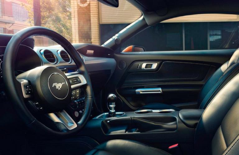 2018 Ford Mustang Interior Steering Wheel.