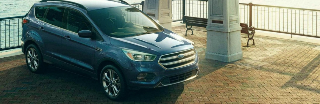 2018 Ford Escape parked on a pier