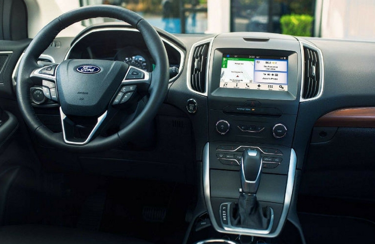 Ford Edge Dash And Wheel View