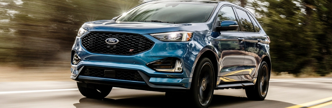 2019 Ford Edge Interior Technologies